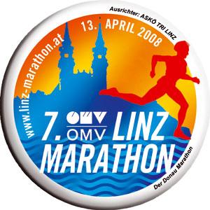 Logo vom 7. OMV Linz Marathon